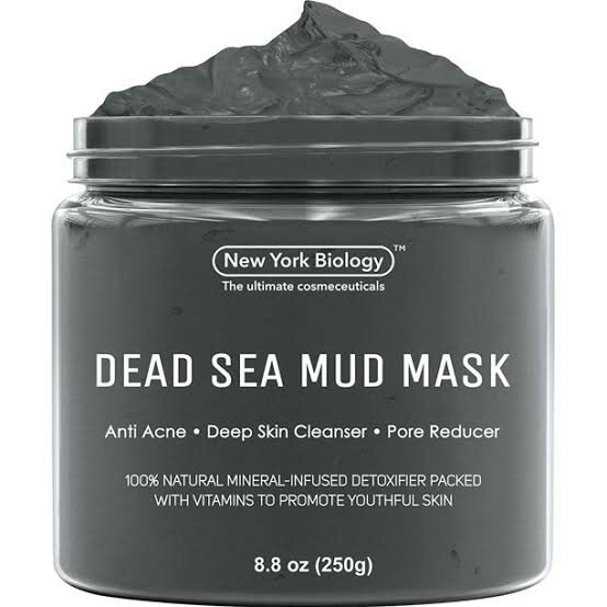 New York Biology Dead Sea Mud Mask for Face and Body - Spa Quality Pore Reducer for Acne, Blackheads and Oily Skin, Natural Skincare for Women, Men - Tightens Skin for A Healthier Complexion